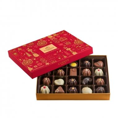 GodivaGodiva 《聖誕限定》聖誕巧克力禮盒20顆裝