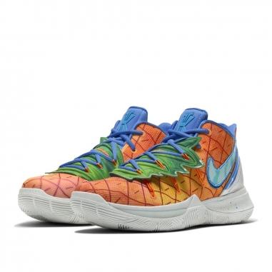 NIKE耐吉 KYRIE 5 X 海綿寶寶鳳梨屋籃球鞋