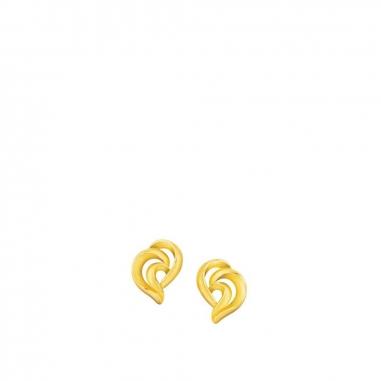 Ever Rich Jewelry昇恆昌珠寶 MEET U 黃金耳環
