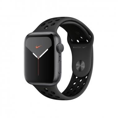 AppleApple 太空灰色鋁金屬錶殼 Nike運動型錶帶