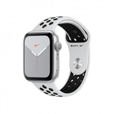 AppleApple 銀色鋁金屬錶殼 Nike運動型錶帶