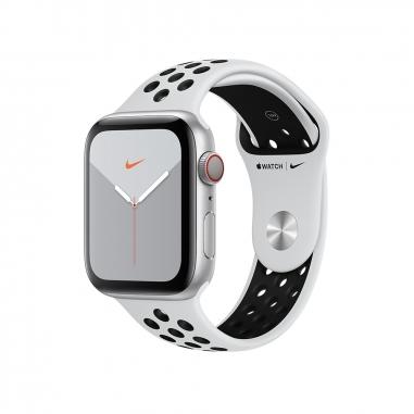 AppleApple 銀色配黑色 Nike運動錶帶
