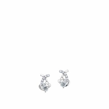 Ever Rich Jewelry昇恆昌珠寶 MEET U 心型鑽石耳環