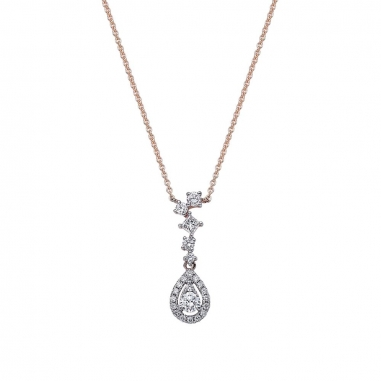 Ever Rich Jewelry昇恆昌珠寶 綻FUN 鑽石項鍊