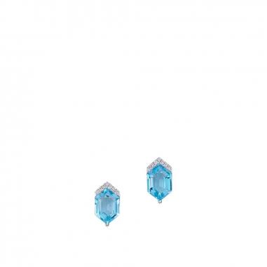 Ever Rich Jewelry昇恆昌珠寶 綻FUN 有色寶石耳環