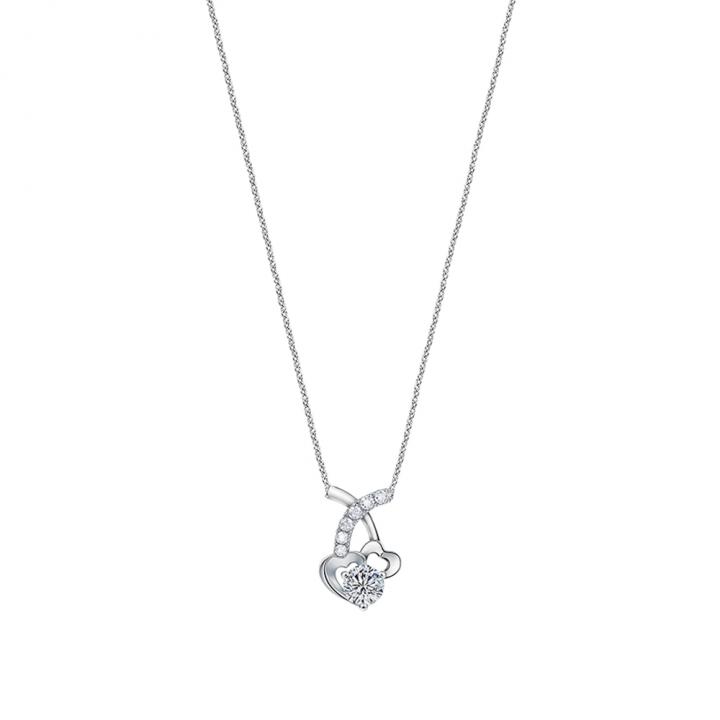 MEET U DIAMOND HEART PENDANTMEET U 心型鑽石項墜(不含鍊)
