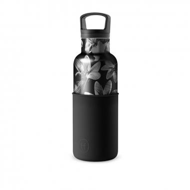 HYDY海迪 時尚保溫水瓶 黑花瓶油墨黑