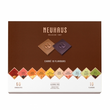 Neuhaus諾好事 精選綜合巧克力薄片