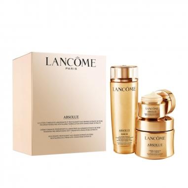 LANCOME蘭蔻 蘭蒄絕對完美黃金玫瑰奢潤新生護膚特惠組