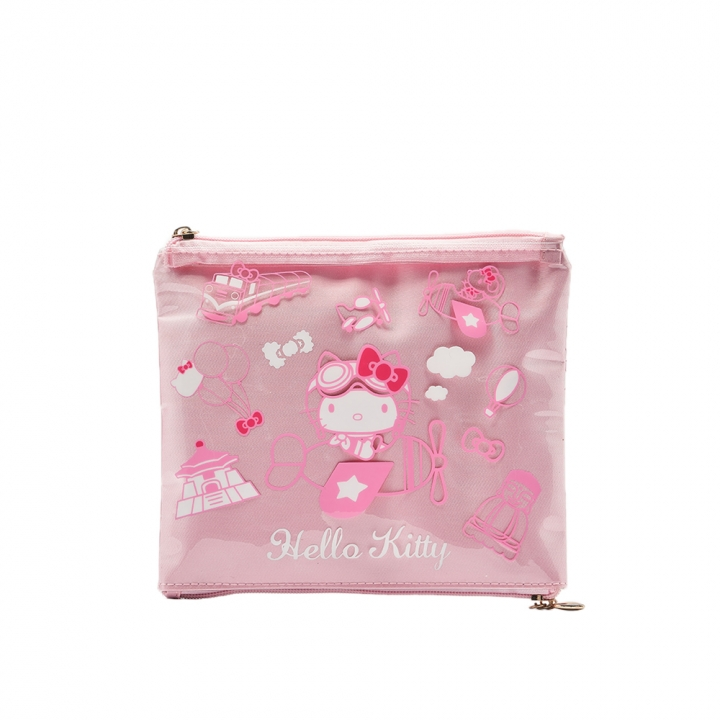機場限定 Hello Kitty 環遊兩層包