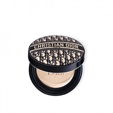 Dior迪奧 超完美柔霧光氣墊粉餅 經典緹花限量版