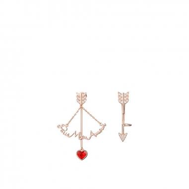 AGATHA璦嘉莎 PMA巴黎我的愛弓箭耳環