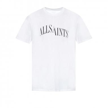 AllSaints歐聖 DROPOUT SS CREW男性T恤