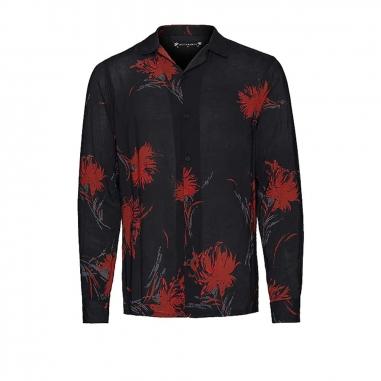 AllSaints歐聖 ARBORETUM LS SHIRT男性襯衫
