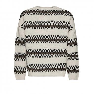 AllSaints歐聖 ORVIK CREW男性毛衣針織衫