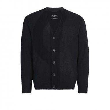 AllSaints歐聖 AUSTELL CARDIGAN男性毛衣針織衫
