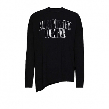 AllSaints歐聖 TOGETHER CASHMERE女性毛衣/針織衫