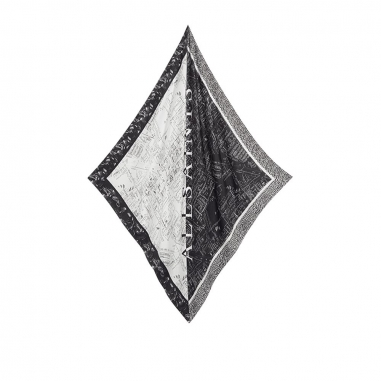 AllSaints歐聖 SPITAFIELDS SQ圍巾/披巾