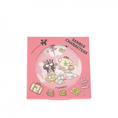 Hello KittyHello Kitty 機場限定-HELLO KITTY朋友旋轉杯墊