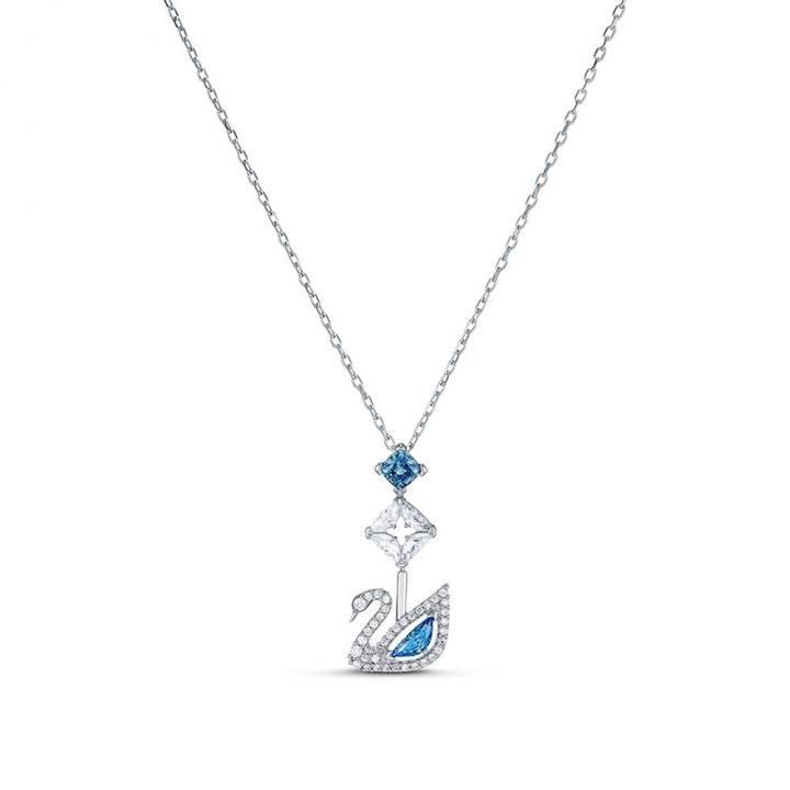 Dazzling Swan NecklaceDazzlingSwan銀Y字鍊