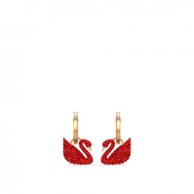 Swarovski施華洛世奇 Iconic Swan金耳環