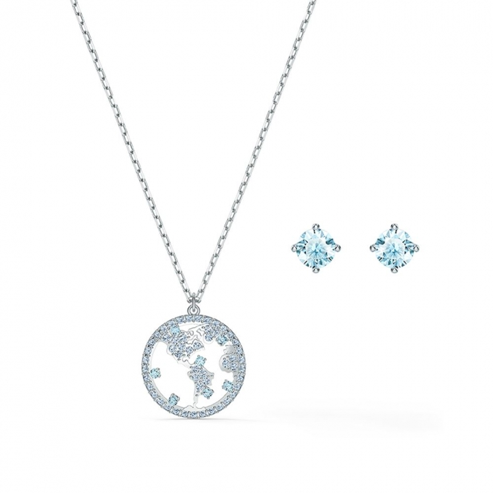 Travel exclusive Earrings and Necklace SetTravel銀耳墜組