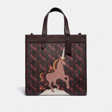 Coach蔻馳(精品) HORSE AND CARRIAGE托特包