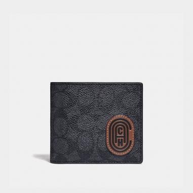 Coach蔻馳(精品) COMPACT ID皮夾