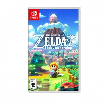 Nintendo任天堂 任天堂SWITCH 薩爾達傳說 織夢島+畫冊 中文版