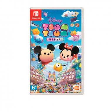 Nintendo任天堂 任天堂SWITCH 迪士尼Disney Tsum Tsum嘉年華 中文版