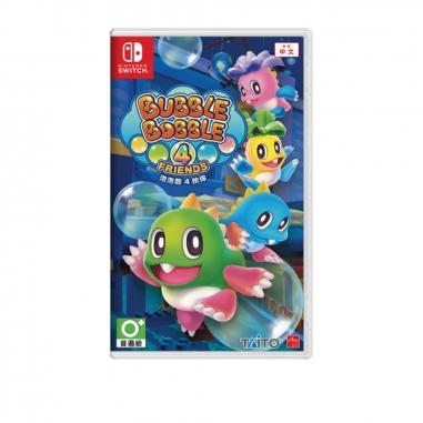 Nintendo任天堂 任天堂SWITCH 泡泡龍 4 伙伴 中文版