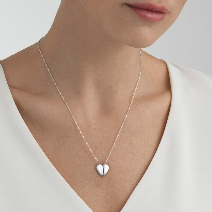 HEARTS OF GEORG JENSEN  NecklaceHeart of GJ銀墜鍊