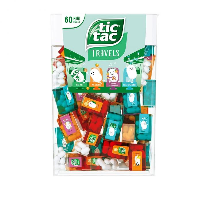 Tic Tac Lilliput Mini BoxesTIC TAC綜合迷你裝涼糖