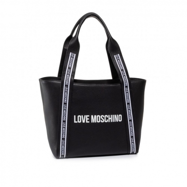 LOVE MOSCHINOLOVE MOSCHINO Logo on Tape托特包