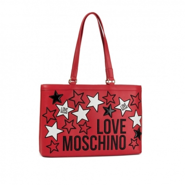 MOSCHINOMOSCHINO Full of Stars托特包