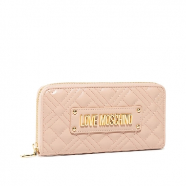LOVE MOSCHINOLOVE MOSCHINO SLG-New Shiny Quilted長夾