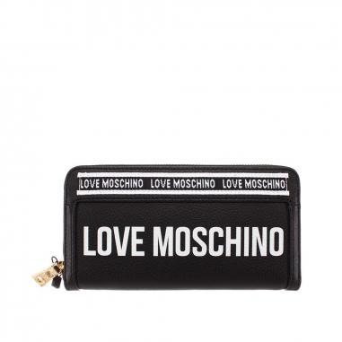 LOVE MOSCHINOLOVE MOSCHINO SLG-Logo on Tape長夾