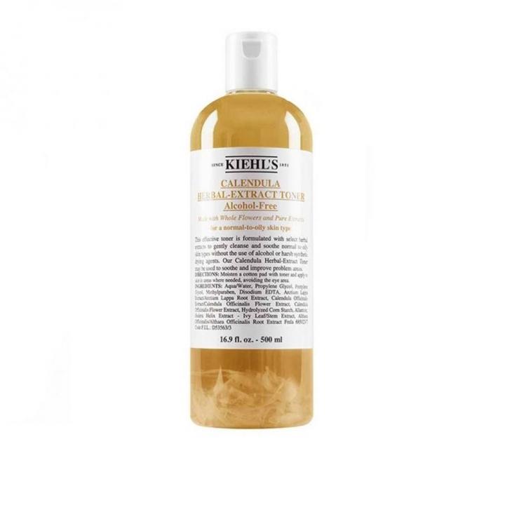 Calendula Herbal Extract Toner金盞花植物精華化妝水500ML-特大裝