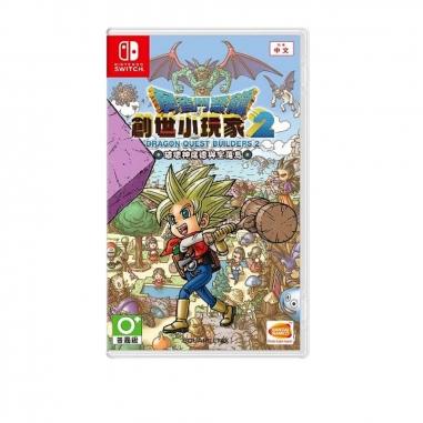 Nintendo任天堂 任天堂SWITCH 勇者鬥惡龍創世小玩家2 破壞神席德與空蕩島DRAGON QUEST