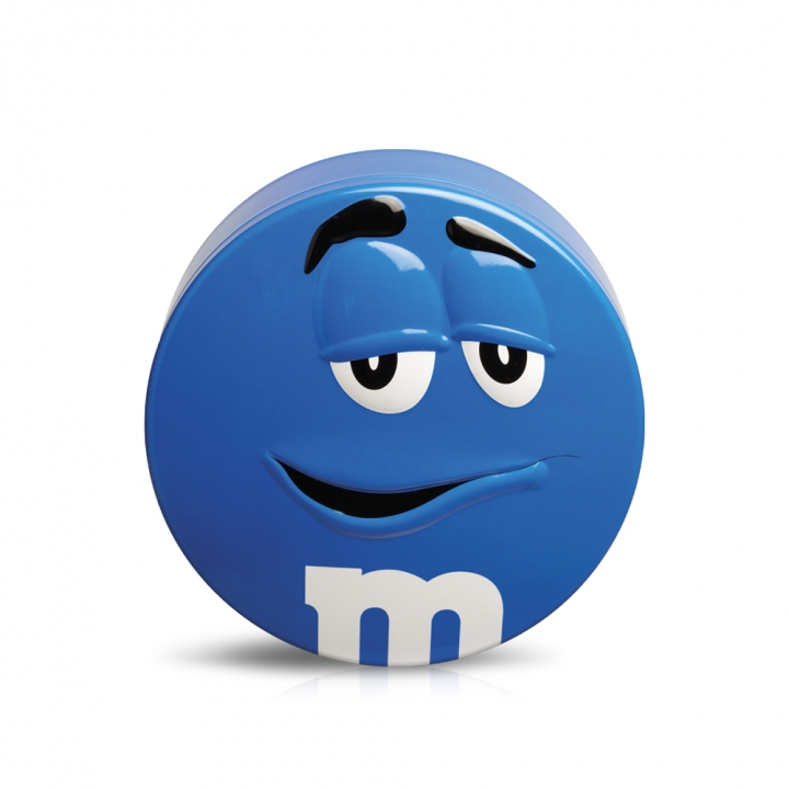 M&M'S Candy Tin繽紛巧克力鐵盒(樣式隨機出貨)