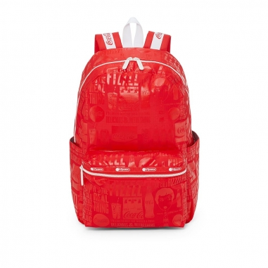 LeSportsac力士保 COCA COLA聯名款後背包