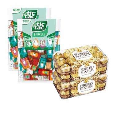 Ferrero費列羅 金莎Tic Tac涼糖特惠組