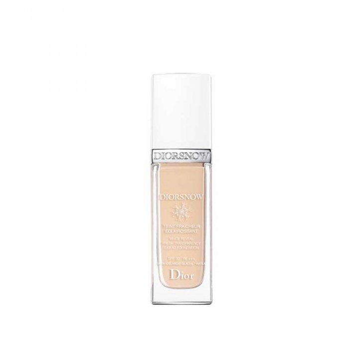 Dior迪奧 雪晶靈極緻透白粉底液