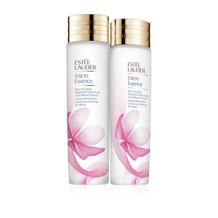 Micro Essence Skin Activating Treatment Lotion Fresh with Sakura Ferment Duo微分子肌底原生露 櫻花輕盈版兩支裝特惠組