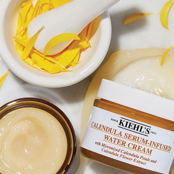 Calendula Serum-Infused Water Cream金盞花精萃亮采水凝霜100ML特大裝