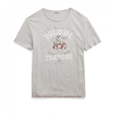 POLO RALPH LAUREN拉夫勞倫 定制修身版型圖案 T恤