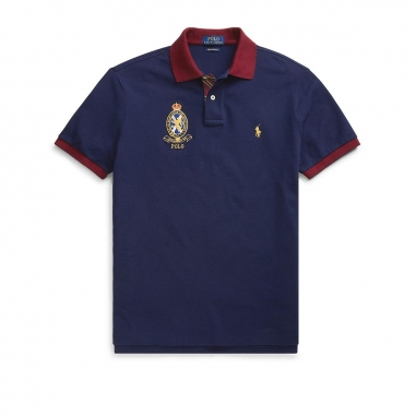 POLO RALPH LAUREN拉夫勞倫 定制修身版型網布 Polo 衫