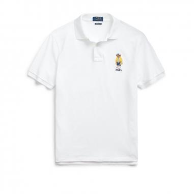 POLO RALPH LAUREN拉夫勞倫 定制修身 CP-93 小熊圖案 Polo 衫