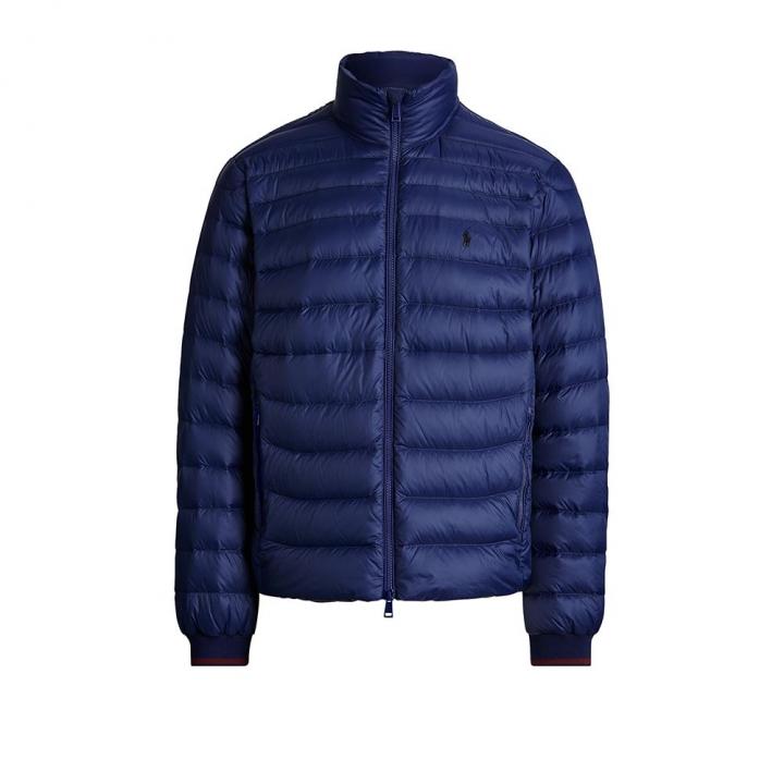POLO OUTWEAR可收納絎縫羽絨夾克