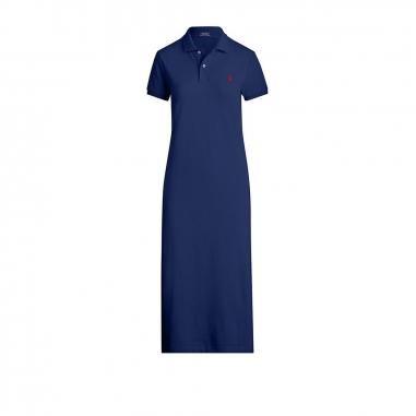 POLO RALPH LAUREN拉夫勞倫 短袖 Polo 襯衫式連衣裙